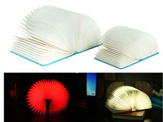 四色书本灯