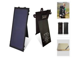 驴友必备背包太阳能电板