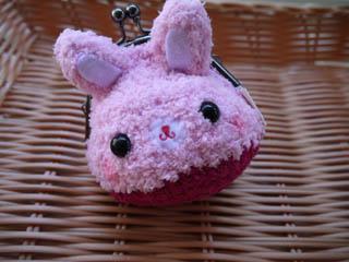 小兔子毛巾